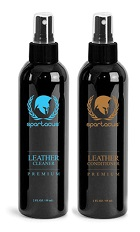 2 pack Leather Cleaner & Conditioner 2oz